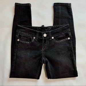 Seven7 Black Legging Denim Skinny Jean